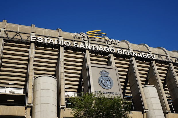 Santiago Bernabéu, estádio do Real Madrid