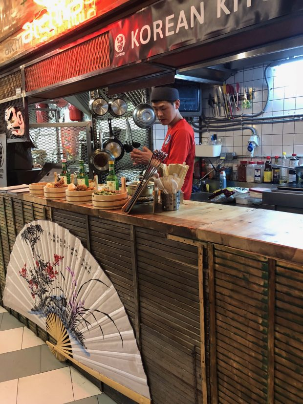comida asiática- mercado san ildefonso - madrid