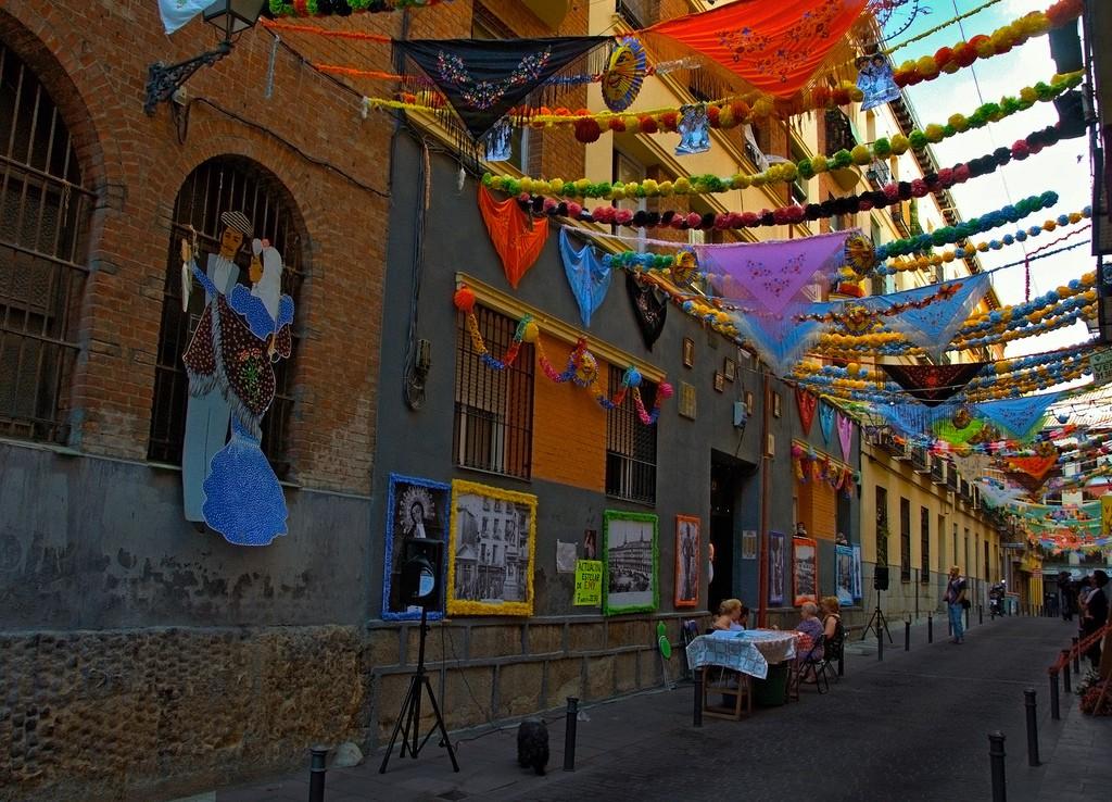 Calle de San Cayentano, verbena san cayetano, verbenas madrid, virgem de la paloma