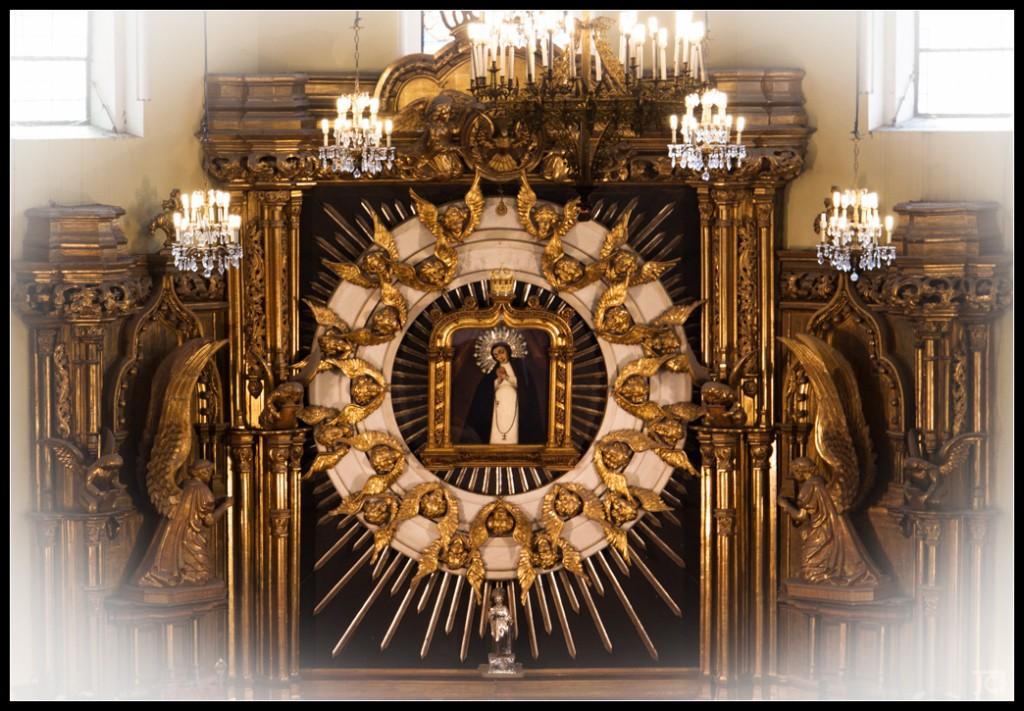 Quadro da Virgem de La Paloma, verbena la paloma, verbenas madrid, virgem de la paloma