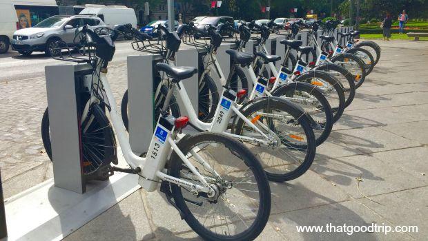 Bicicleta pública de Madrid