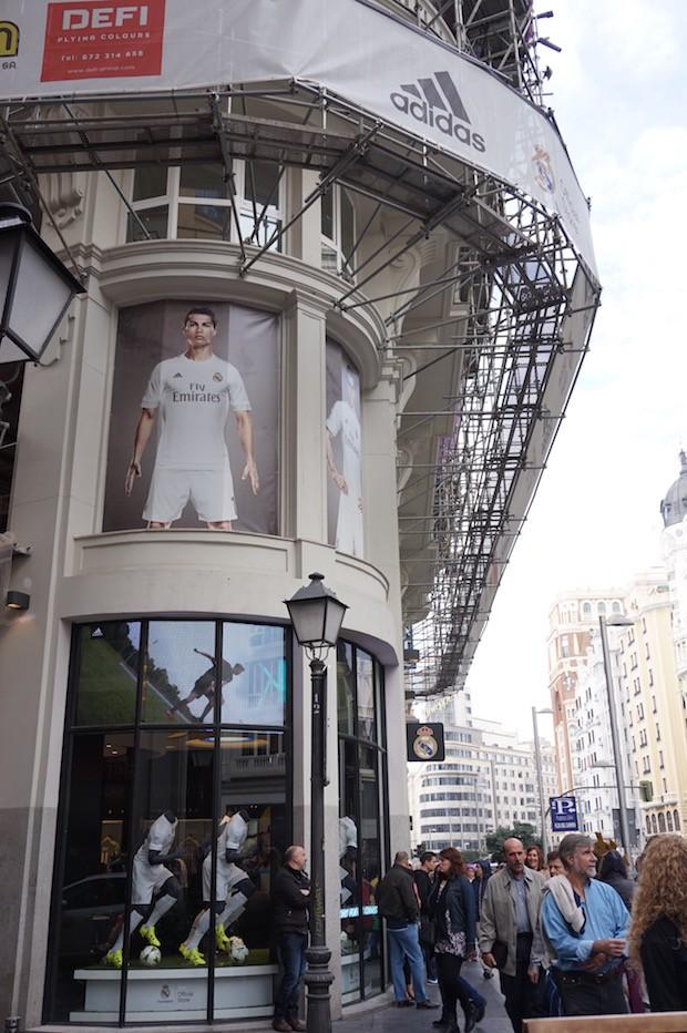 Loja Real Madrid Gran Vía