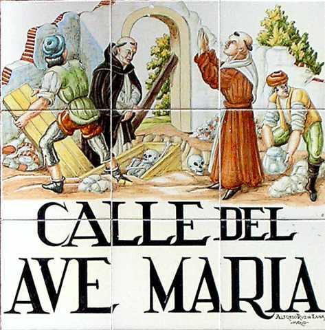 calle ave maria, curiosidades sobre as ruas de Madrid
