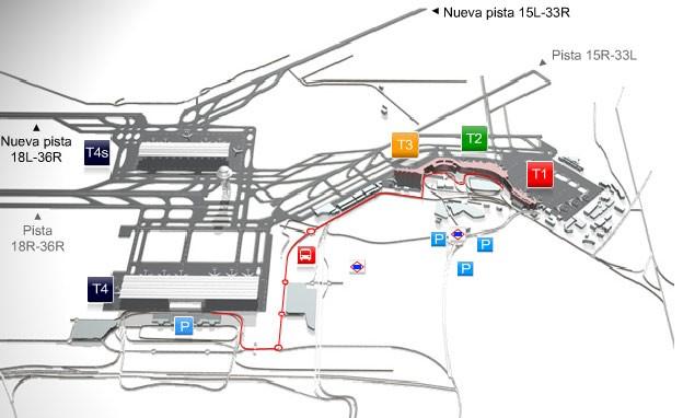 aeroporto madrid 3