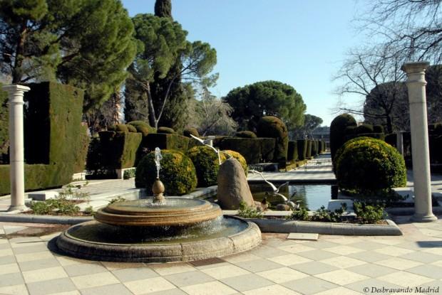 jardim cecilio rodriguez, parque do retiro