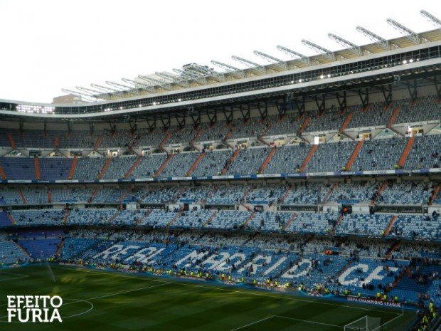Estádio Santiago Bernabéu, do Real Madrid