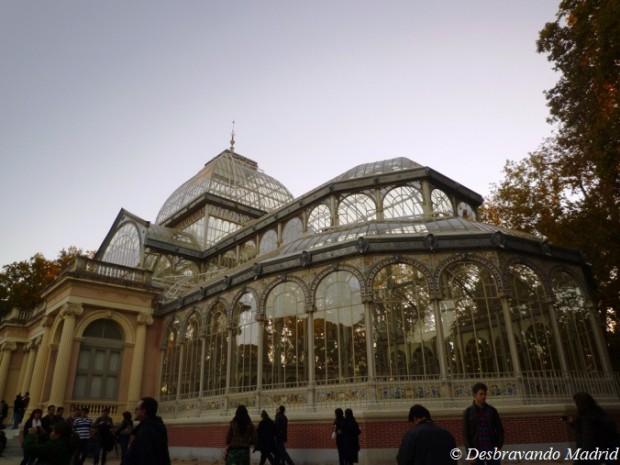palacio cristal, parque do retiro
