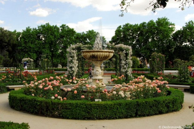 rosaleda retiro, parque do retiro