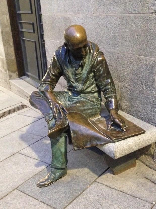 estatua humana em madrid (2)