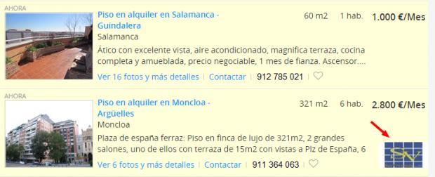 Aluguel de apartamentos em Madrid fotocasa