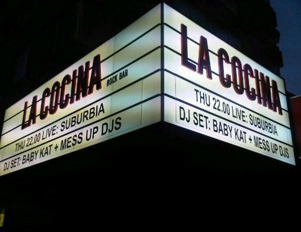 Bares de rock com música ao vivo em Madrid - La Cocina 1