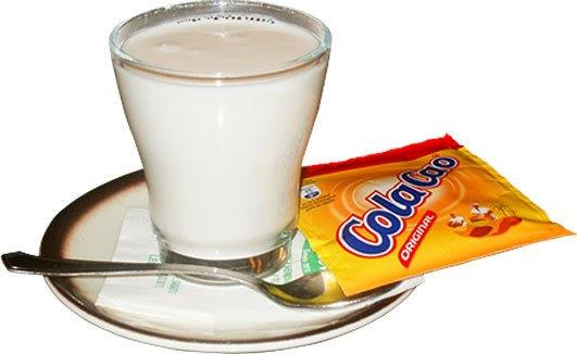 Leche con Colacao
