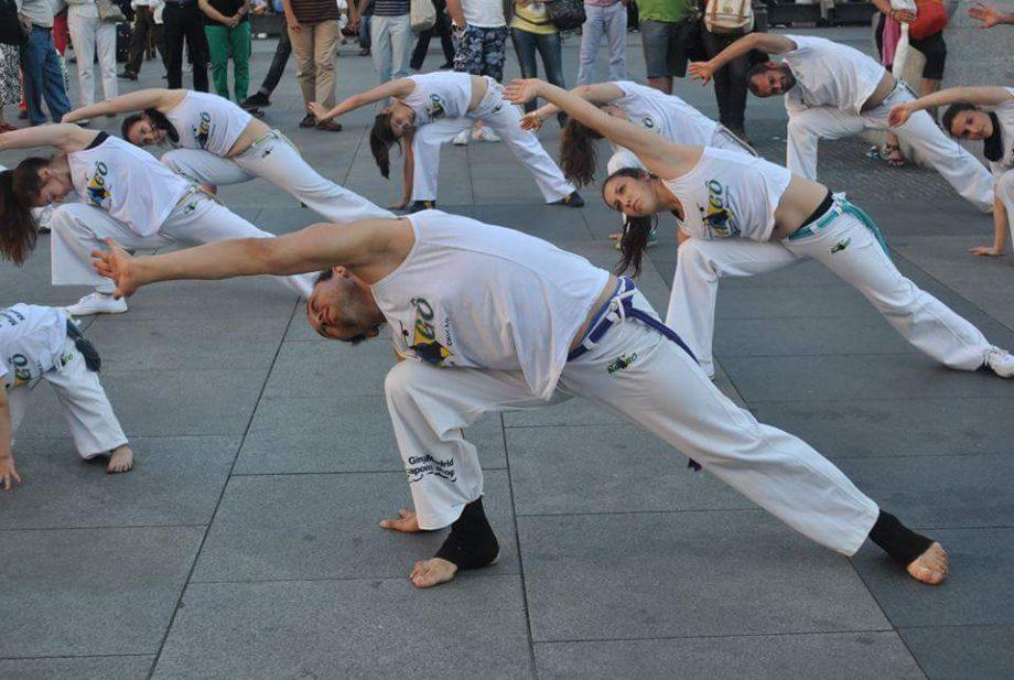 onde fazer capoeira em Madrid - Chicão