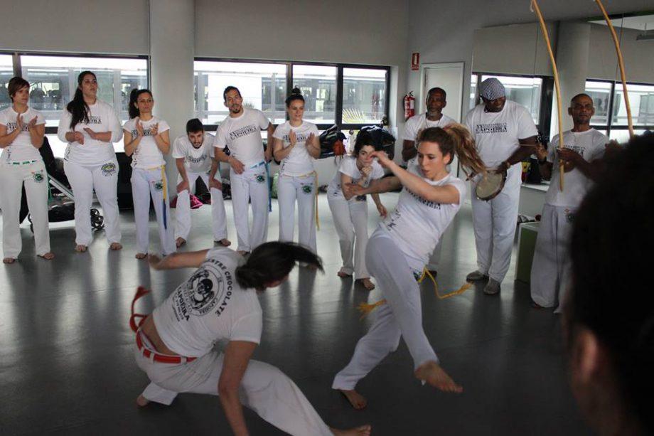 onde fazer capoeira em Madrid - Mestre Pantera