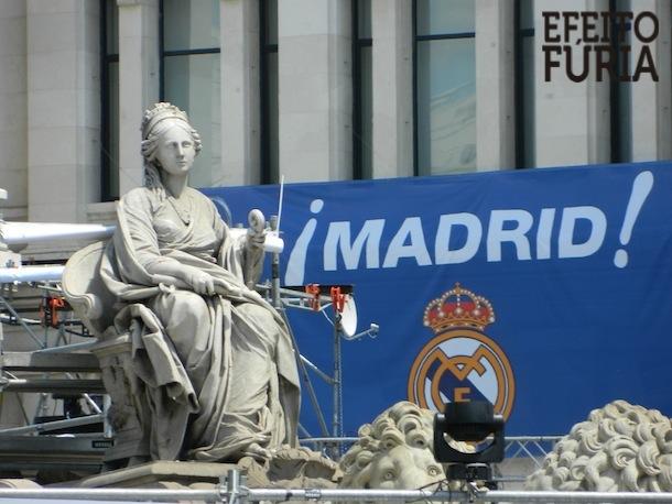 Fonte de Cibeles - Madrid