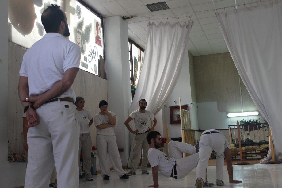 onde fazer capoeira em Madrid - Alfonso - Angola