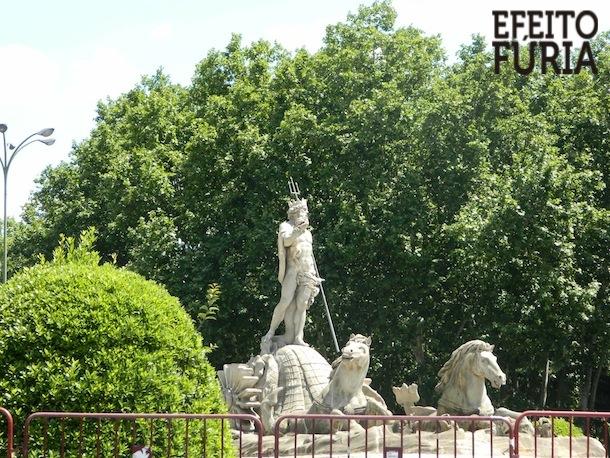 Fonte de Neptuno - Madrid