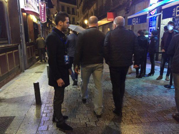 Relações públicas das discotecas de Madrid