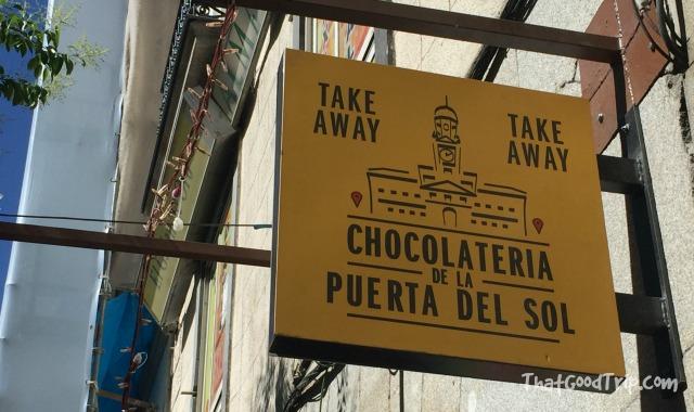 Chocolateria de la Puerta del Sol Madrid