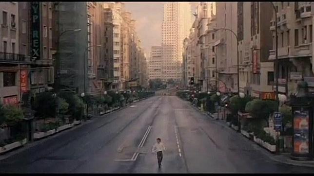 Filmes gravados em Madrid - Gran Via - abre los ojos