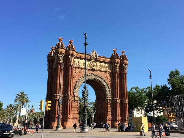 Arco do Triunfo de Barcelona