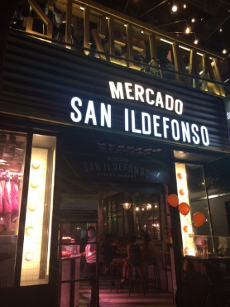 Por Madrid: do Romântico ao Imperial - Mercado San Idelfonso