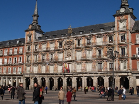 Por Madrid: do Romântico ao Imperial - plaza mayor
