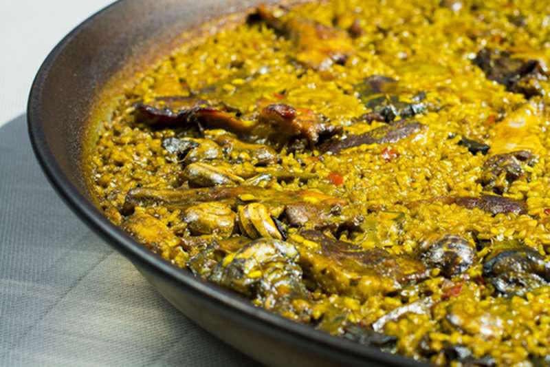 Paella de Que si quieres arroz Catalina