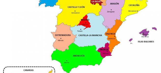 Comunidades Autônomas da Espanha