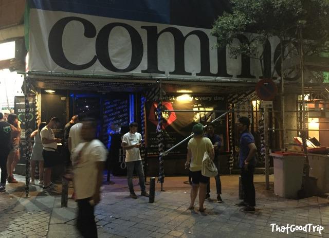 Commo bar Madrid