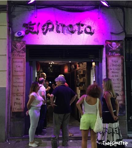 El Pirata bar Madrid