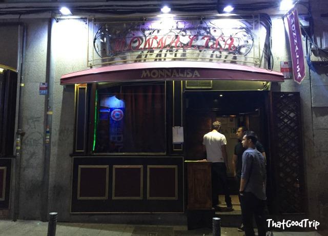 Monnalisa bar Madrid