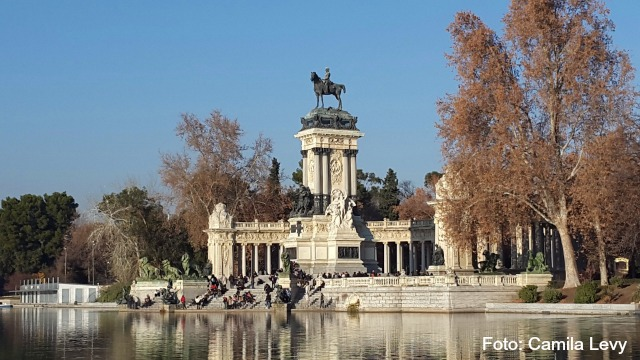 Lago do Parque do Retiro