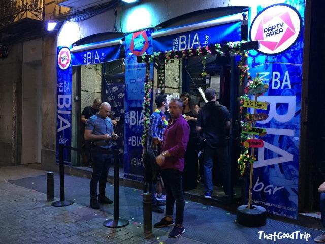 Enbabia bar Madrid