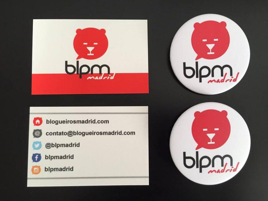 Materiais de divulgação do BLPM