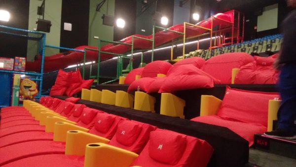 Um cinema feito para crian as madrid com crian as for Sala junior islazul