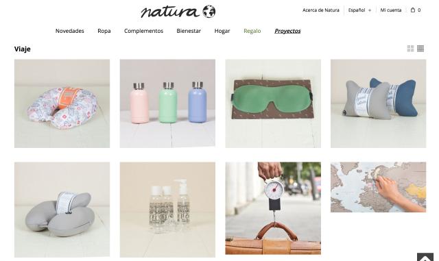 Loja Natura Madrid