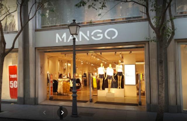 Mango Calle Fuencarral