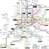 mapa do metro - hábitos e costumes espanhóis