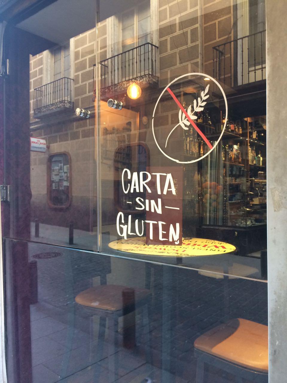 Gluten free bar