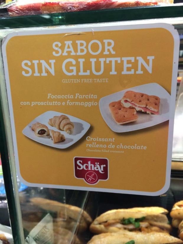 Glutenfree vitrine