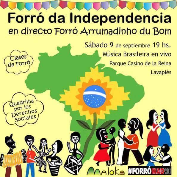 Forró da Independencia como grupo Forró Arrumadinho