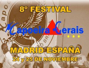 festival de capoeira gerais en Madrid