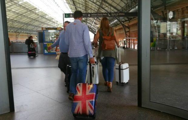 Usando malas pequenas na Europa