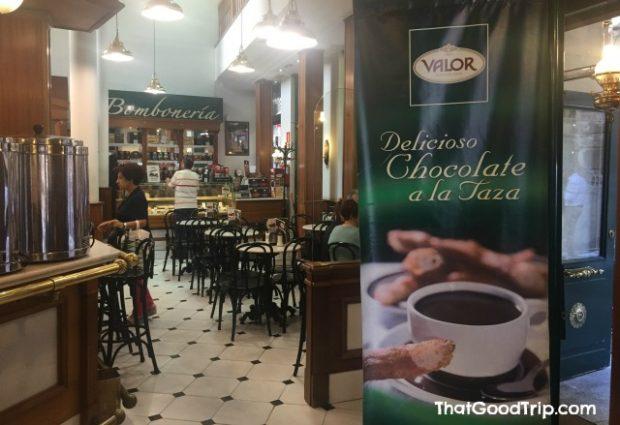 Chocolateria Valor Madrid