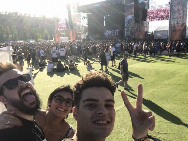 furtaram o meu celular em Madrid - download festival