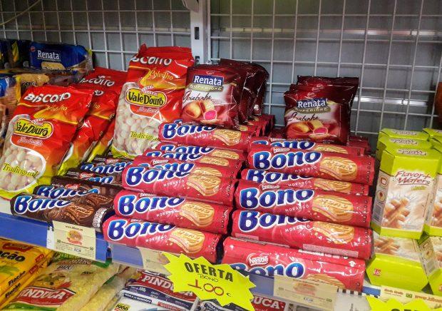 produtos brasileiros em Madrid Bono