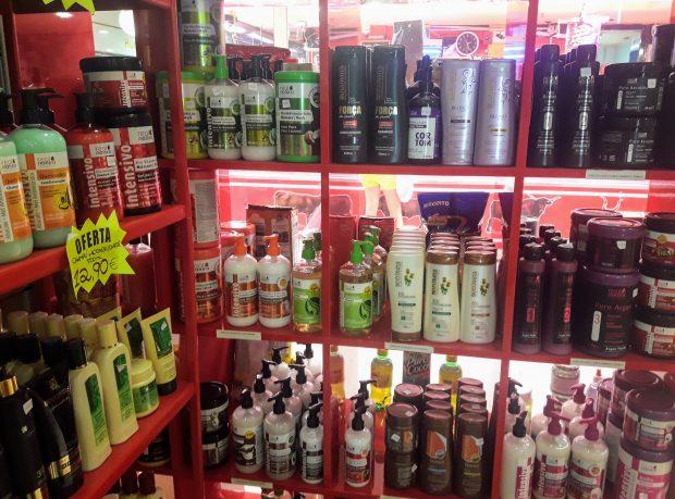 produtos brasileiros em Madrid higiene