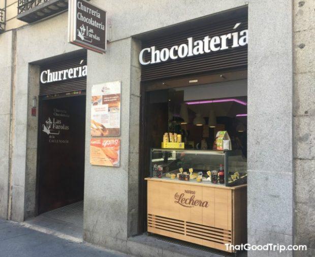 Churreria Las Farolas Madrid