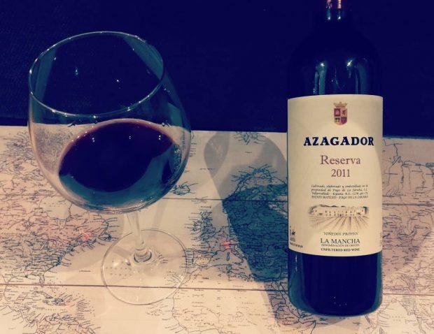 Vinho Espanhol Azagador – Reserva 2011